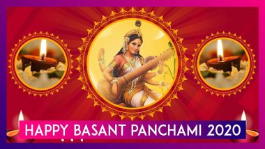 Happy Basant Panchami 2020 Wishes: WhatsApp Messages, Images & Quotes To Send To Family & Friends