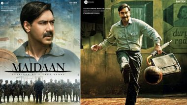 Maidaan: Ajay Devgn Scores a Goal with his Promising Look as Syed Abdul Rahim in these New Posters