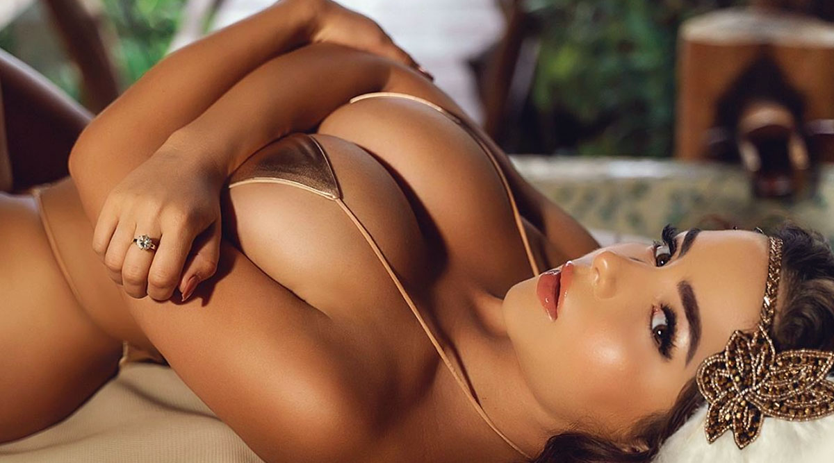 Ae Con Leeun Negro Porno hot demi rose in a barely-there string bikini leaves nothing