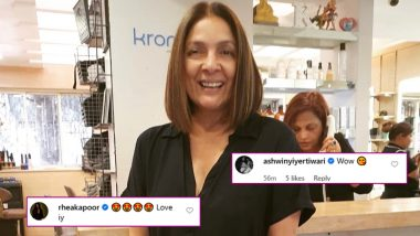 Neena Gupta Asks Google to Reduce Her Age After Donning a New Hairstyle, Ashwiny Iyer Tiwari, Rhea Kapoor Love Panga Actress' New Look (View Pic)