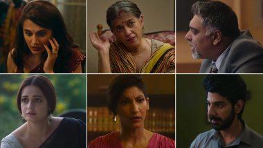 Thappad Trailer: Taapsee Pannu's Hard-Hitting Drama Asserts 'It's Not Just Itni si Baat' (Watch Video)