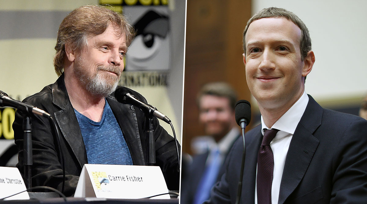 Star Wars Icon Mark Hamill Deletes His Facebook Account Objecting Mark Zuckerberg in His Recent Tweet
