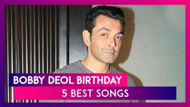 Bobby Deol Birthday: 5 Songs Of The Actor That Are Close To The Heart of Every 90s Kid