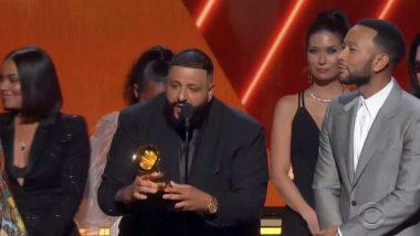 Grammy Awards 2020: YG, DJ Khaled, John Legend Pay Tribute to Late Rapper Nipsey Hussle (Watch Video)