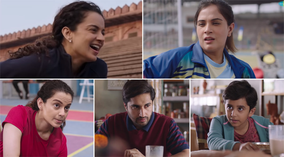 Le Panga Song: Kangana Ranaut Shows Us the Tough Journey for the Making of a Champion in This Inspiration Title Track of Panga (Watch Video)
