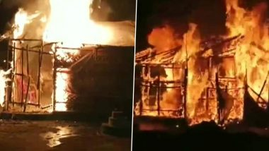 West Bengal: BJP Office Set on Fire in Asansol, TMC Workers Blamed