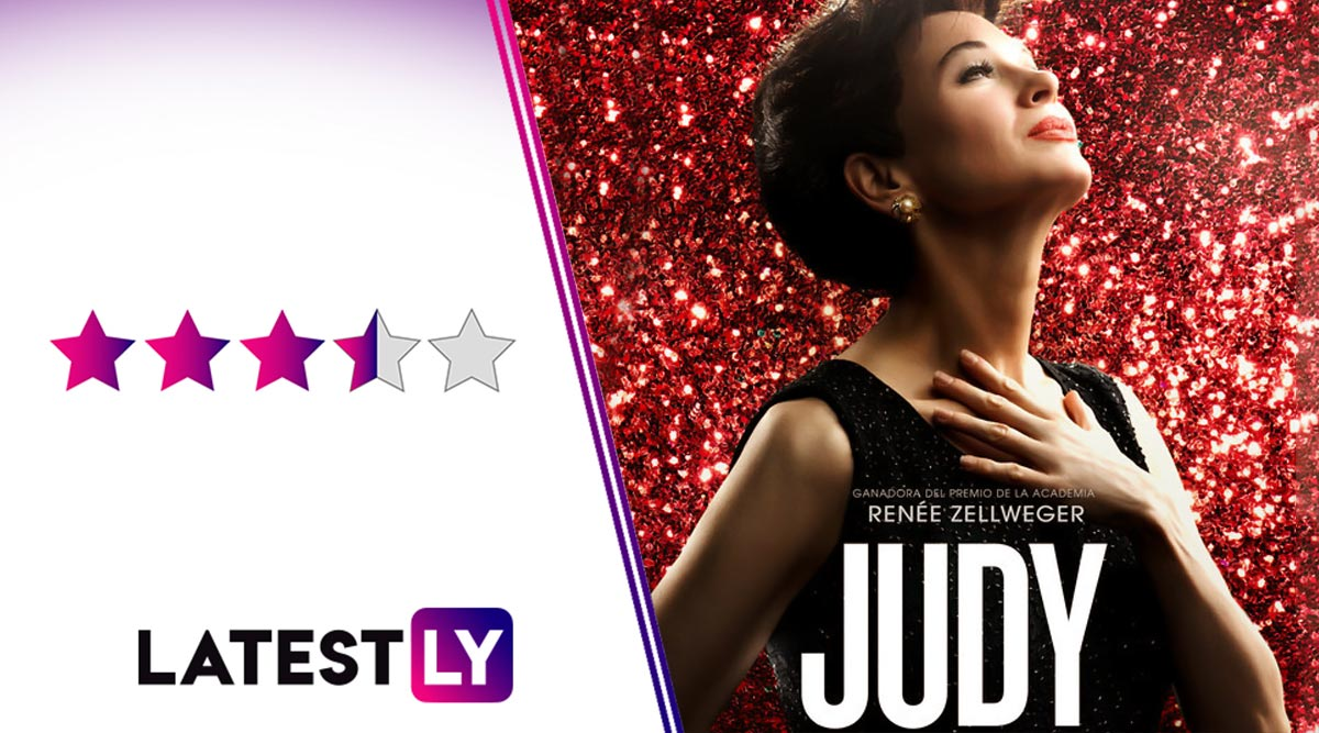 Judy Movie Review: Renee Zellweger Brings Judy Garland's Tragic But Magical Persona to Life in a Performance That Elevates the Film Beyond Its Flaws