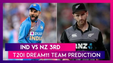 India vs New Zealand Dream11 Team Prediction, 3rd T20I 2020: Tips To Pick Best Playing XI