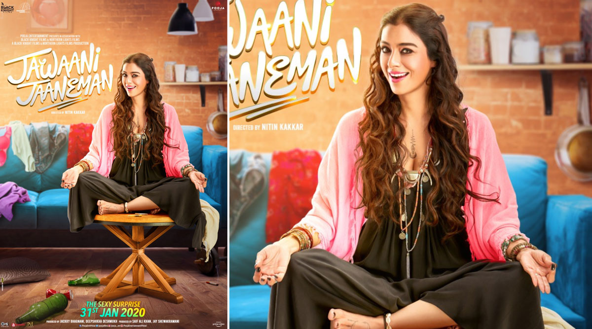 Jawaani Jaaneman: Tabu Dons a Sexy Bohemian Avatar on the New Poster and We Can't Wait to Meet Her Character Soon as the Trailer Releases on January 9