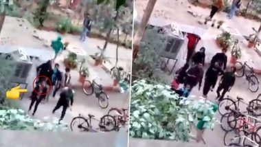 ABVP Accuses JNUSU President Aishe Ghosh of Orchestrating Attack in University Campus, Shares Video as 'Proof'