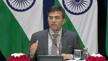 Coronavirus Outbreak: India Prohibited Export of Medical Items to China Due to Limited Stock, Says MEA