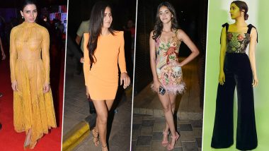 Shraddha Kapoor, Katrina Kaif and Ananya Panday Take Home the Tag of 'Best Dressed Celebs' of this Week (View Pics)