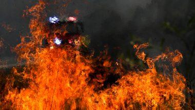Fire Breaks Out in Delhi Slum Area Near Sector-16, No Casualties Reported
