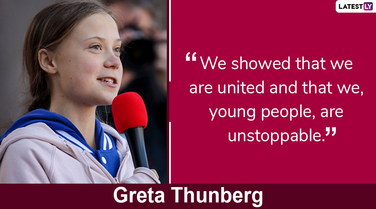 Happy Birthday, Greta Thunberg: From 'How Dare You' to 'I Don't See Myself as a Leader', Here Are 8 Powerful Quotes by Young Swedish Climate Activist