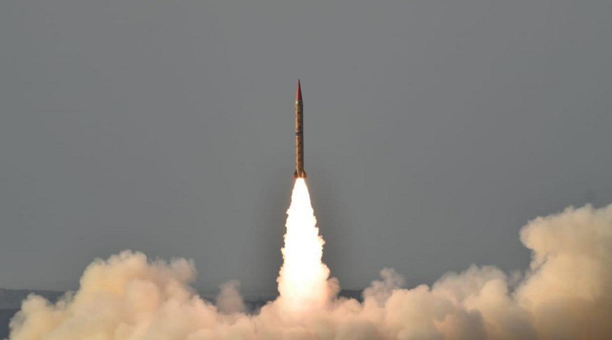 Pakistan Conducts Test Launch of Surface Ballistic Missile Ghaznavi
