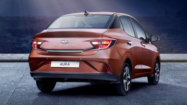 LIVE Updates: Hyundai Aura Compact Sedan Launched in India at Rs 5.80 Lakh; Prices, Bookings, Colours, Interior, Features & Specifications
