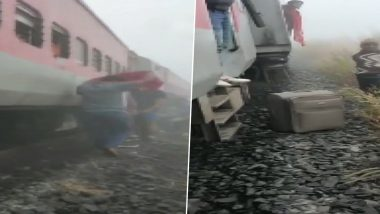 Mumbai-Bhubaneswar LTT Express Derails Near Salagaon in Odisha After Hitting Goods Train, 20 Injured