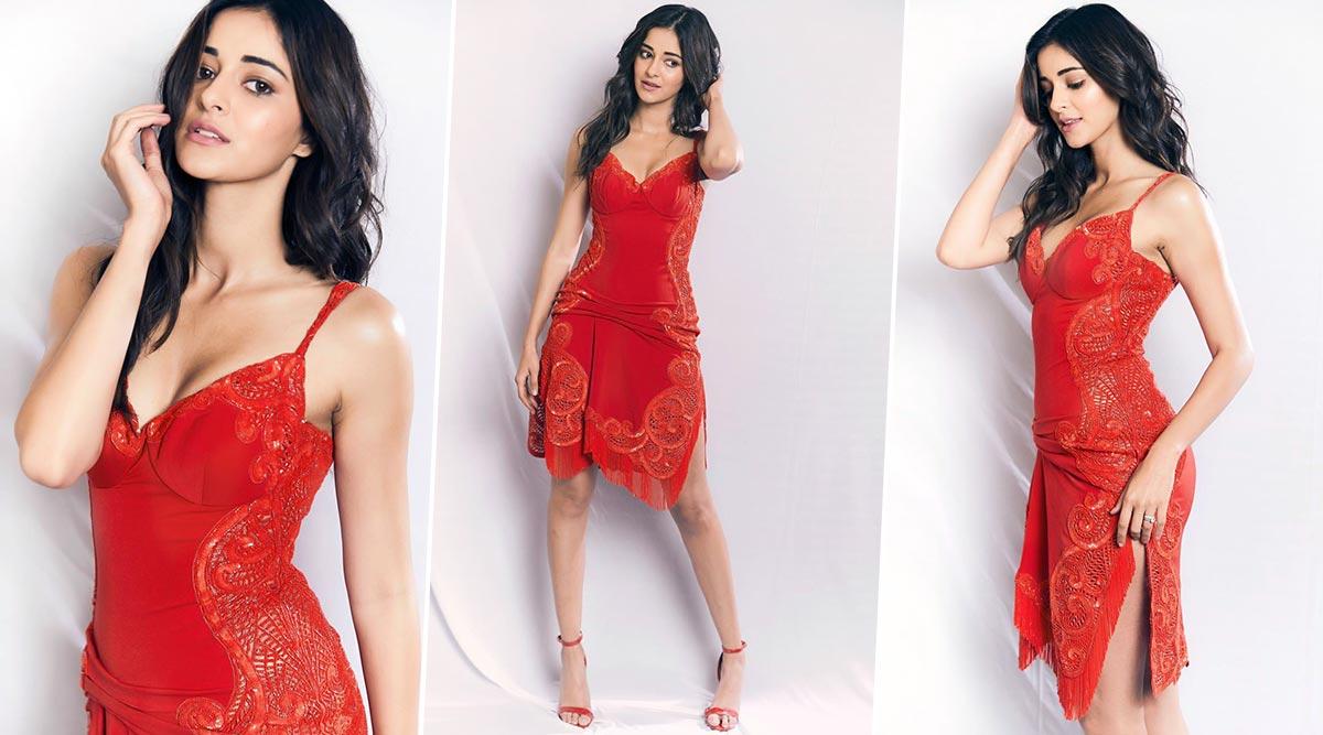 Ananya Panday's 'Kinda Classy, Kinda Crazy' Dress Gets a Thumbs Up from Us (View Pics)