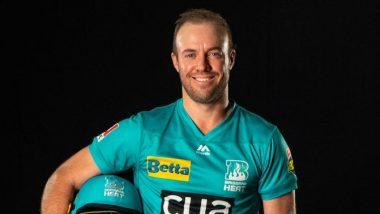AB de Villiers Scores 40 on Big Bash League Debut to Help Brisbane Heat Win Against Adelaide Strikers