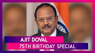 Ajit Doval Birthday Special: Facts About India's Fifth & Current NSA As He Turns 75