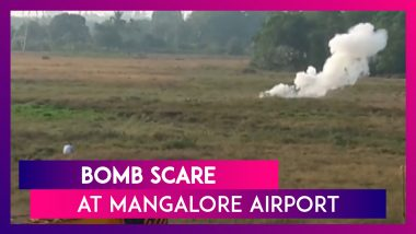 Bomb Disposal Squad Detonates IED Found In A Bag At Mangalore Airport