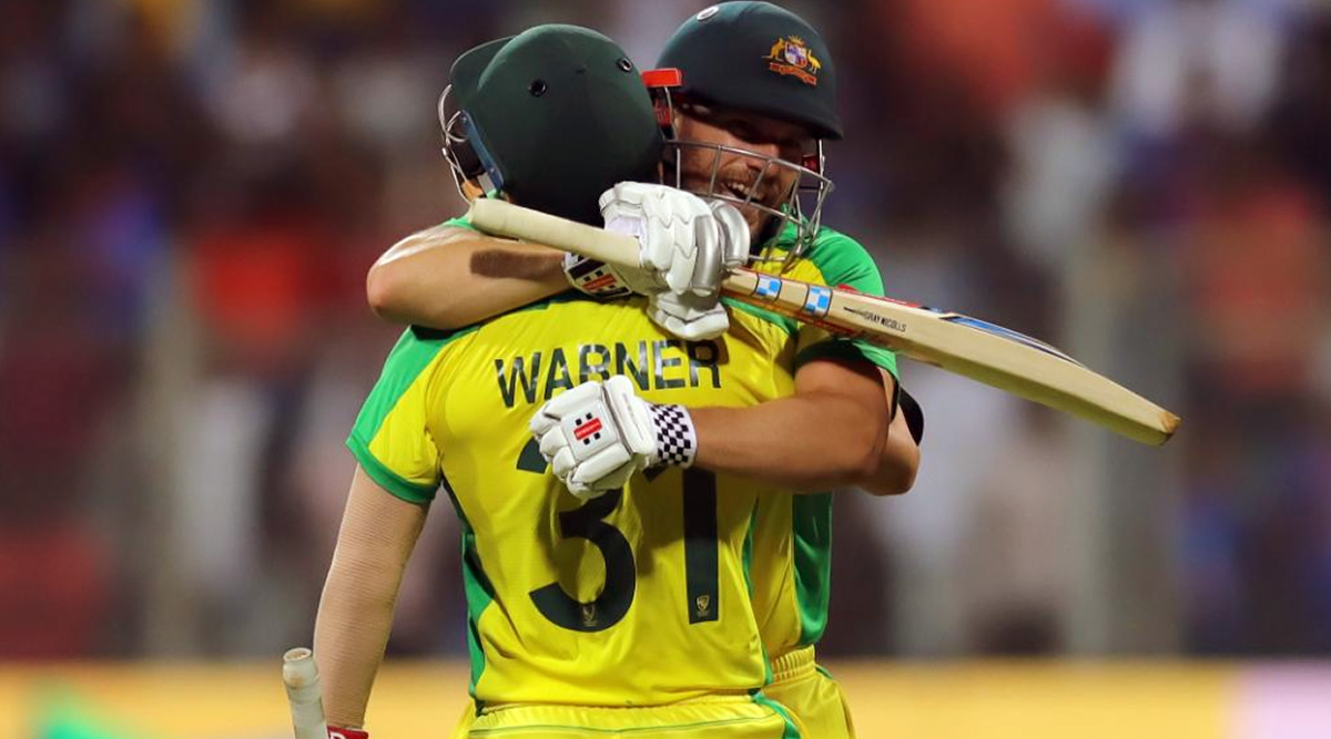 India vs Australia 1st ODI 2020, Match Report: David Warner and Aaron Finch Slam Centuries As Aussies Register 10-Wicket Victory to Take 1–0 Lead