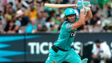 AB de Villiers Smashes Quick-Fire Half-Century Against Melbourne Stars in BBL 2019–20, Twitterati Celebrate the Maverick's Return to Form (Watch Video)