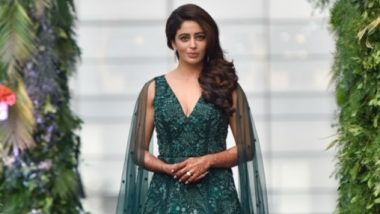 Bigg Boss 12 Contestant Nehha Pendse Stuns in Green Gown