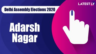 Adarsh Nagar Election Result 2020: AAP Candidate Pawan Kumar Sharma Declared Winner From Vidhan Sabha Seat in Delhi Assembly Polls