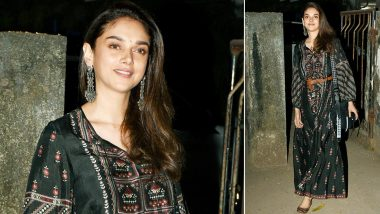 Aditi Rao Hydari's Kaftan Dress by Anita Dongre Is What We Need for That Next Holiday!