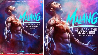 Malang: Aditya Roy Kapur Flaunts His Washboard Abs in First Look Poster; Trailer of Mohit Suri Directorial to Be Out on January 6, 2020