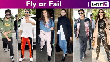 Fly or Fail: Deepika Padukone, Shahid Kapoor, Shraddha Kapoor, Varun Dhawan, Sara Ali Khan Keep It Simple but Ranveer Singh Is a Hoot!