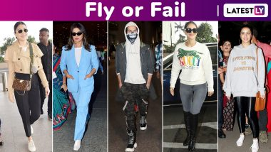 Fly or Fail: Priyanka Chopra, Akshay Kumar, Shraddha Kapoor, Shahid Kapoor and Anushka Sharma Made Some Snazzy Choicess!