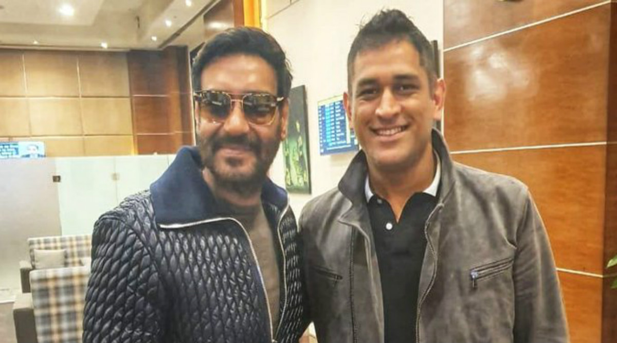 Ajay Devgn Meets MS Dhoni: Cricket, Films Uniting Religion of India