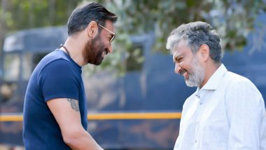 RRR: Ajay Devgn Starts Shooting for SS Rajamouli's Magnum Opus (View Pics)