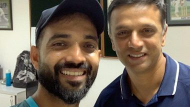 Rahul Dravid 47th Birthday: Ajinkya Rahane Posts Heartwarming Wish for His Role Model, Calls 'The Wall' His Guiding Light