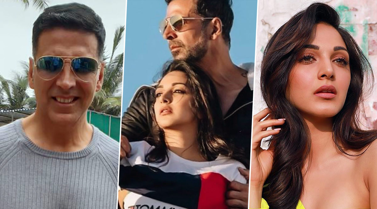 Laxmmi Bomb: Akshay Kumar and Kiara Advani Shoot for a Peppy Dance Number Titled 'Burj Khalifa'?
