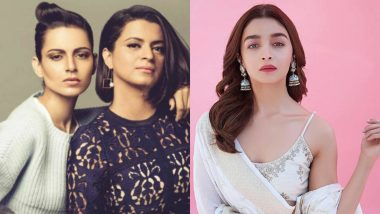 Alia Bhatt Reacts to Rangoli Chandel's Tweet, Says She Doesn't Regret Sending Flowers to Kangana Ranaut on Padma Shri Win