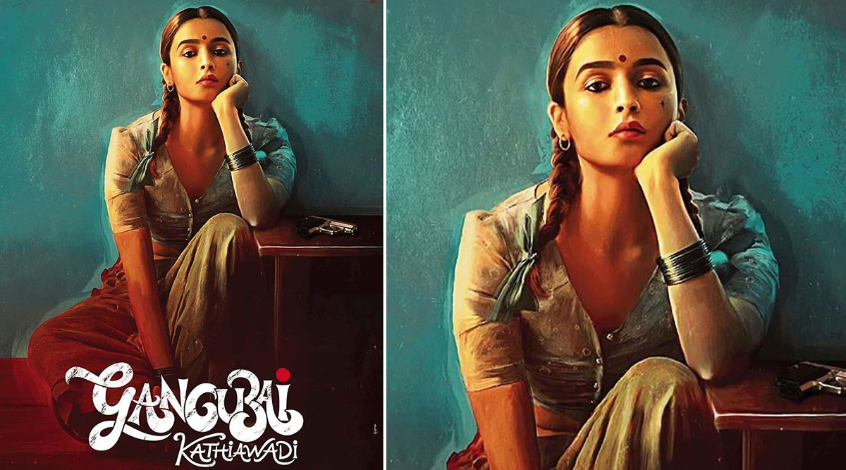 Gangubai Kathiawadi First Look: Alia Bhatt Looks Fierce and Is Here to Rule the Underworld (View Pic)