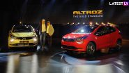 2020 Tata Altroz Premium Hatchback Launched in India at Rs 5.29 Lakh; Check Prices, Features, Variants & Specifications