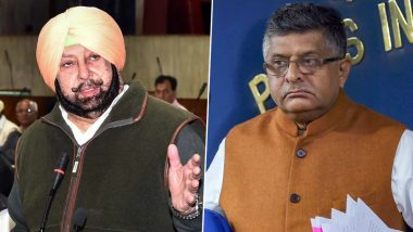 CAA Could Be Misused by Infiltrators, NRC Will Deprive Many Indian Muslims of Citizenship: Amarinder Singh in Open Letter to Ravi Shankar Prasad