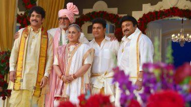 Pic Of The Day! Amitabh Bachchan-Jaya Bachchan's Photograph with South Stars Nagarjuna Akkineni, Shiv Rajkumar and Prabhu Looks Regal