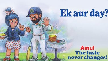 Amul Topical Ad on ICC's Proposal Of Four-Day Test Matches Replacing Traditional Five Day Is So On Point (View Pic)