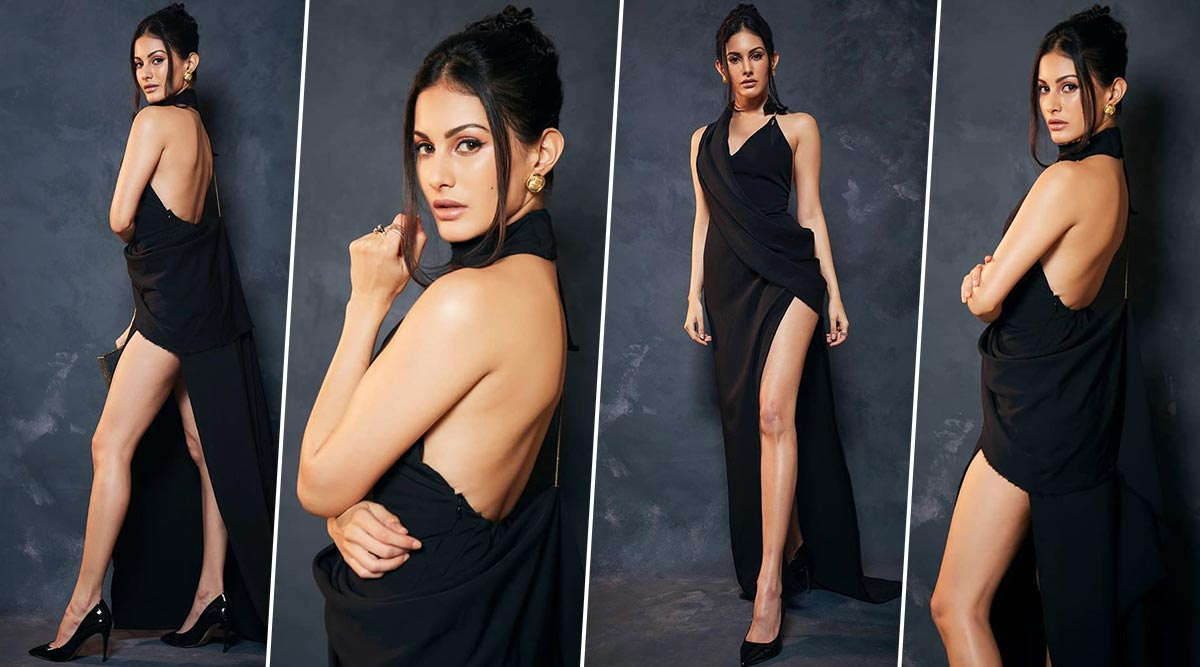 Yo or Hell No? Amyra Dastur in Yousef Akbar for Sol Lions Gold Awards 2020