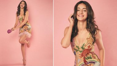 Ananya Panday Shimmers and Struts in All Flamboyance in a Playfully Feminine Sequin Dress!