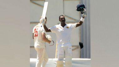 Zimbabwe vs Sri Lanka 1st Test 2020: Angelo Mathews' Maiden Double Ton Puts Lanka in Command