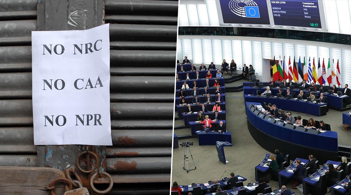 CAA: Big Win For India, EU Parliament Postpones Voting on Anti-Citizenship Amendment Act Resolutions