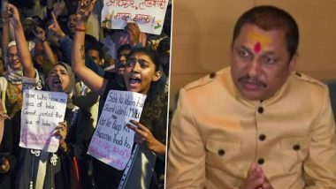 'Follow BR Ambedkar's Constitution Or Tear it', Says BJP's Bhopal MLA Narayan Tripathi Against CAA, Opines BJP Creating Division on Religious Basis