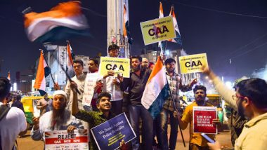 Anti-CAA Agitation: '66 Protests, 99 Arrests, 11 Cases Registered in Delhi', Says MHA in Lok Sabha