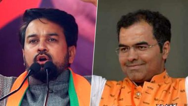 Delhi Elections 2020: Anurag Thakur, Parvesh Verma Face EC Action For 'Provocative' Remarks, Removed From BJP List of Star Campaigners
